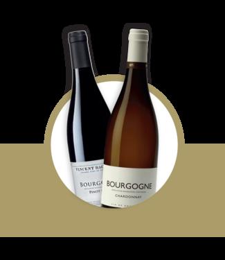 Set van 2 Bourgogne wijnen