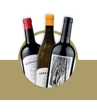 Set van 3 wijnen: Verenigde Staten