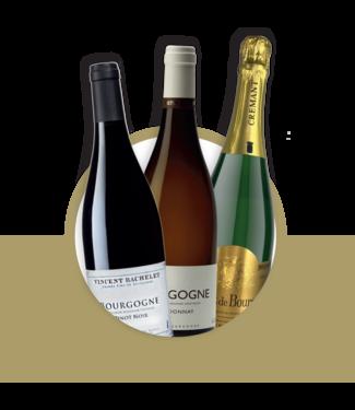 Set van 3 wijnen: Frankrijk Bourgogne