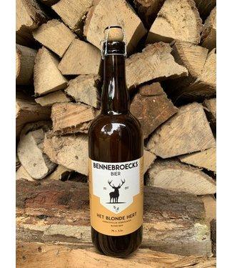Bennebroecks Bier - Het Blonde Hert - 750ml