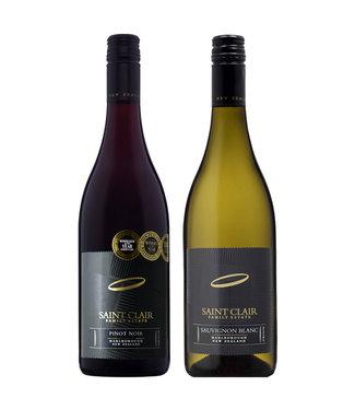 Set van 2 Saint Clair wijnen