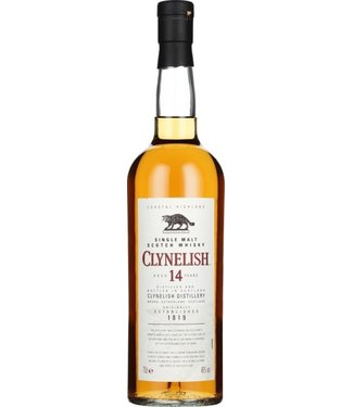 Clynelisch Coastal Highland Single Malt Scotch 14 years - 700ml