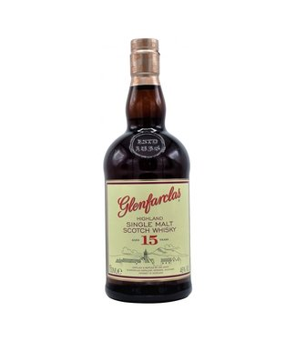 Glenfarclas Highland Single Malt Scotch Whisky 15 Years 700ml