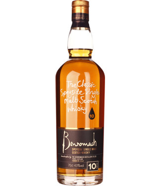 Benromach Speyside Single Malt Scotch Whisky 10 Years
