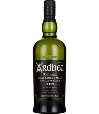 Ardbeg 10 Years - The Ultimate Islay Single Malt Scotch Whisky - 700ml