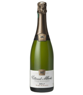 Vitteaut-Alberti - Brut Blanc de Blancs - Crémant de Bourgogne - AOC