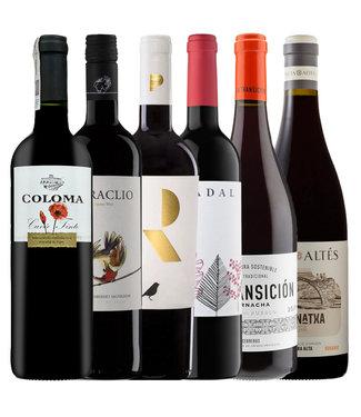 Proefpakket Spaanse wijn  rood - 6 flessen