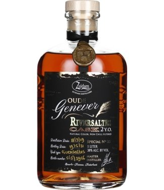 Zuidam - Oude Genever River Saltes 2 Years - 1000ml