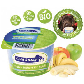 Cold & Dog Frozen Yoghurt Appel&Banaan
