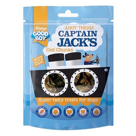 Captain Jack's Kabeljauw Chunks 90gr
