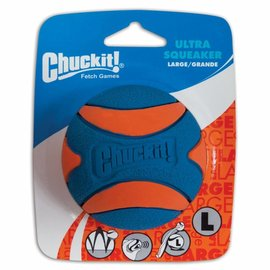 Chuckit Chuckit Ultra Squeaker Ball L 1-Pack