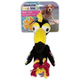 ALL FOR PAWS Hawaiian dog Toucan with rope legs