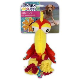 ALL FOR PAWS Hawaiian dog Parrot with rope legs
