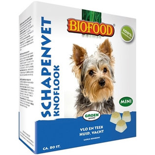 Biofood Sheep fat mini bonbons garlic 80pcs