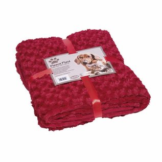Nobby Deken Fleece 60x85 Bordeaux