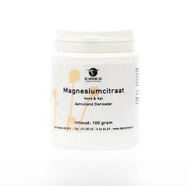 De Groen Os Magnesiumcitraat 100gr
