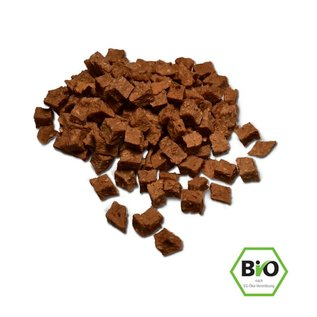 Cold & Dog Chicken cubes dried 100% Organic 100gr