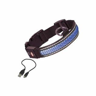 Nobby Halsband Nylon Verlicht Large