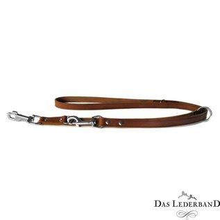 Das Lederband Leren verstelbare lijn Kastanje - Weinheim - B:18mm L:200cm