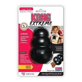 kong Kong Extreme Zwart Large 7x7x10cm