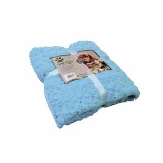 Nobby Deken Fleece 60x85 Blauw