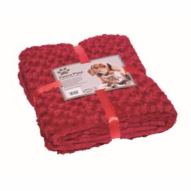 Nobby Deken Fleece 100x150 Bordeaux