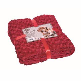 Nobby Blanket Fleece 100x150 Bordeaux