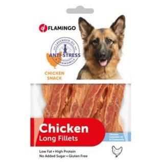 Flamingo Chicken snack antistress (lavender / chamomile) 85gr