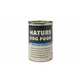 Nature Dog Food Nature Dog Eend, Zalm, Garnaal & Spinazie 400Gr