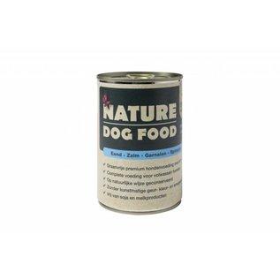 Nature Dog Food Nature Dog Eend, Zalm, Garnaal & Spinazie 400Gr