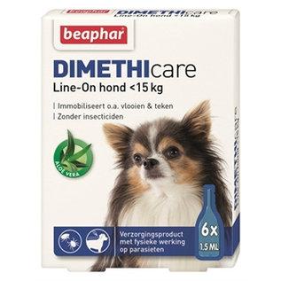 Beaphar Dimethicare Line-on Dog up to 15kg 6pip 1.5ml