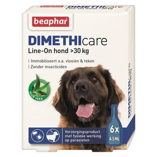 Beaphar Dimethicare Line-on Dog above 30kg 6pip 4,5ml