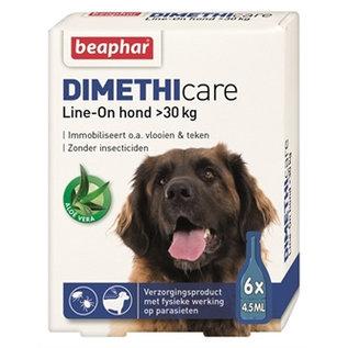 Beaphar Dimethicare Line-on Hond boven 30kg 6pip 4,5ml