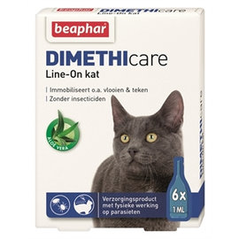 Beaphar Dimethicare Line-on Katze 6pip 1ml