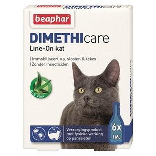 Beaphar Dimethicare Line-on Kat 6pip 1ml