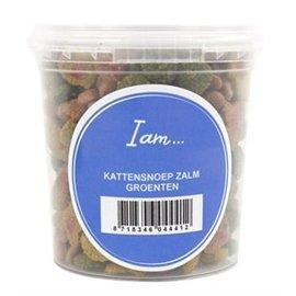 I Am Kattensnoep Zalm/Groente 70gr