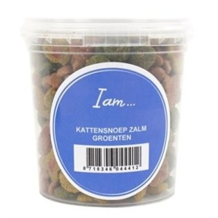 I Am Katze Leckereien Lachs / Gemüse 70gr
