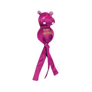 KONG KONG Wubba Balistic Friend Large - Roze Nijlpaard