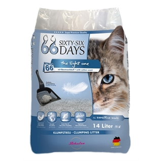 66 Days 66 Days Cotton Light Kattenbakvulling 14ltr