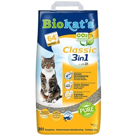 Biokat's Biokat's Cat litter Classic 3 in 1 - 20ltr