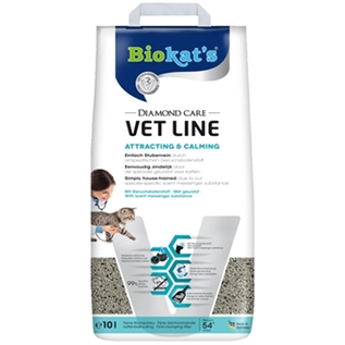 Biokat's Biokats Katzenstreu Diamond Care Fettlinie anziehend & beruhigend 10ltr