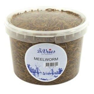 De Vries Meelworm 3ltr (370gr)