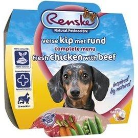 Renske Renske Vers Vlees Kip/Rund 100gr