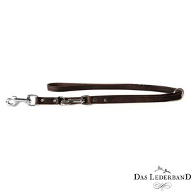 Das Lederband Leather adjustable line Weinheim B: 12mm L: 200cm Mocca