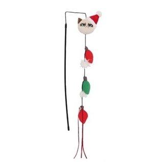 Grumpy Cat Grumpy Christmas Lights Fishing Rod