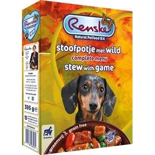 Renske Renske frisches Fleisch Getreidefreier Eintopf mit Wild 395gr