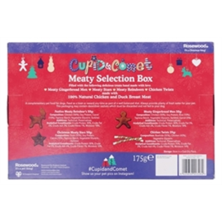 cupid & Comet Christmas Meaty Selection Box 175gr