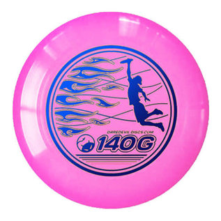 Daredevil Junioren Ultimate Frisbee - 140gr - Roze