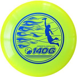Daredevil Junioren Ultimate Frisbee - 140gr - Geel