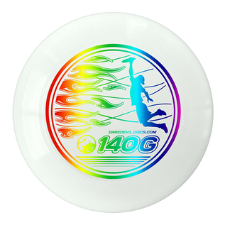 Daredevil Junioren Ultimate Disc - 140gr - Wit - Regenboog